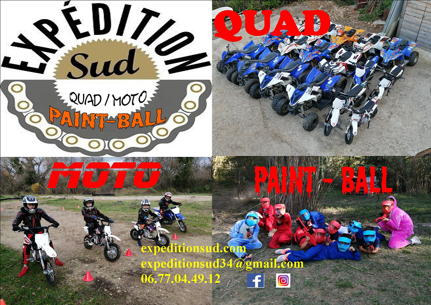 EXPEDITION  SUD        Quad/MOTO/Paint-ball